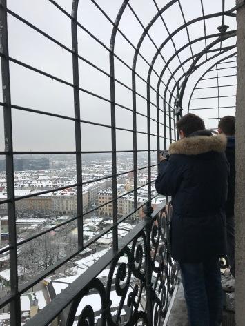 Au sommet de la tour
